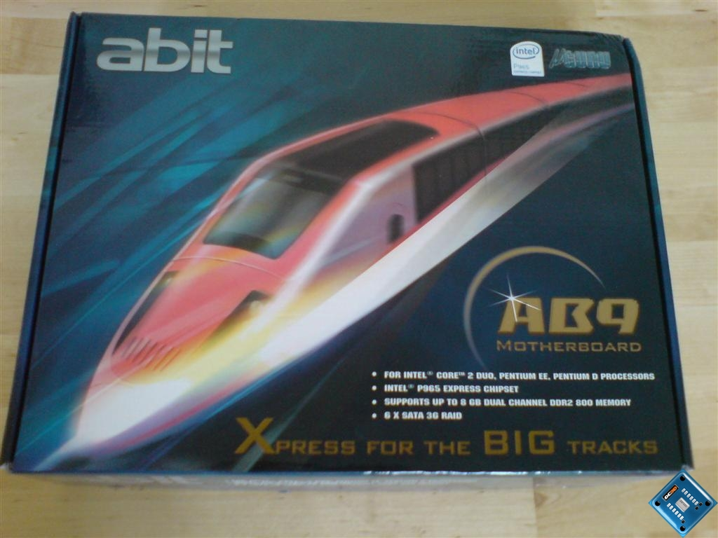 Abit AB9 P965 Conroe Motherboard | Introduction, Packaging and