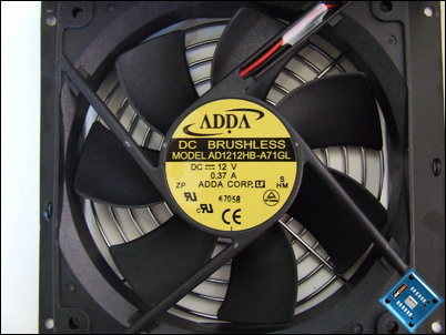 Seasonic M12 600w Fan