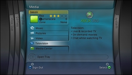 New Xbox 360 Interface