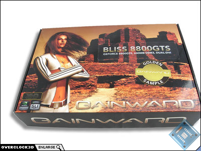 gainward bliss golden sample box