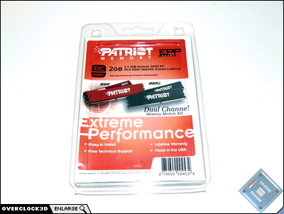 Patriot PC2-8500 Packaging