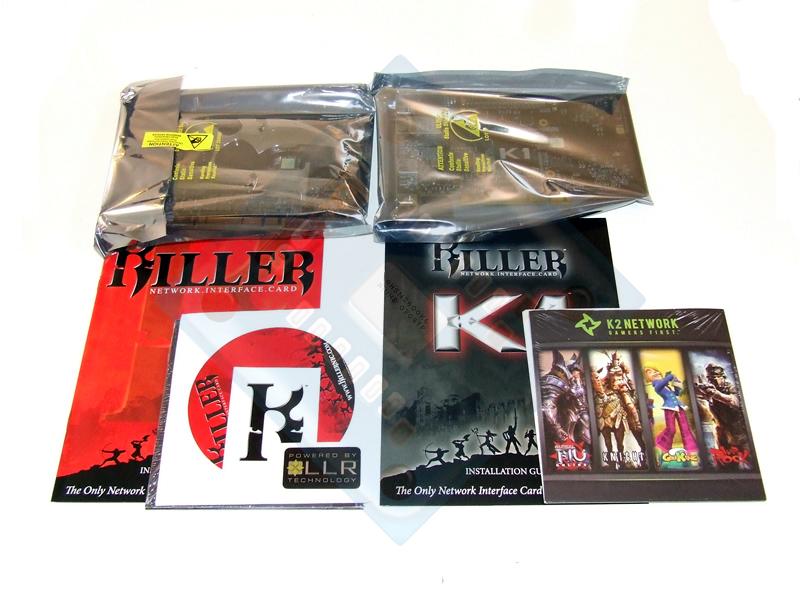 Bigfoot Networks Killer NIC & Killer K1 Network Cards   The