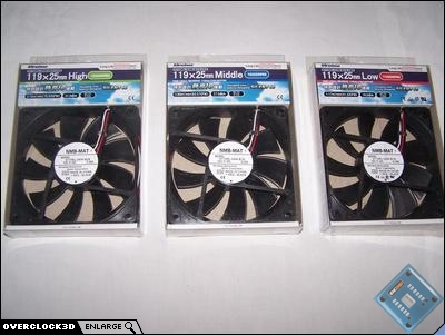Minebea 120mm fans