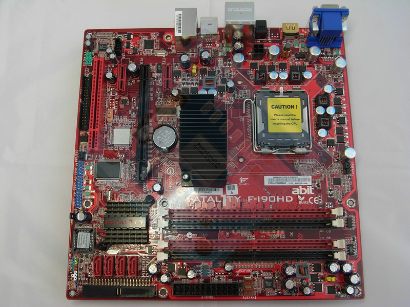 abit fatal1ty f i90hd motherboard a closer look abit f i90hd rh overclock3d net