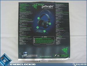 Razer Barracuda HP-1 Box Back