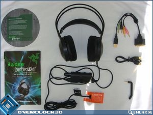 Razer Barracuda HP-1 Contents