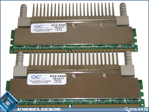 OCZ FlexXLC PC2-9200 Back