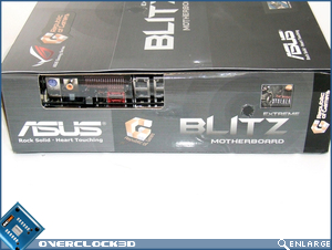 Asus Blitz Extreme Packaging Side