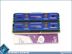 Kingston HyperX PC3-11000 Contents