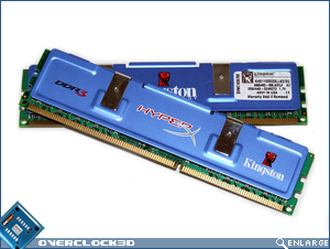 Kingston HyperX PC3-11000 Crossed