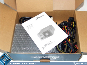 Seasonic X900 Open Packaging