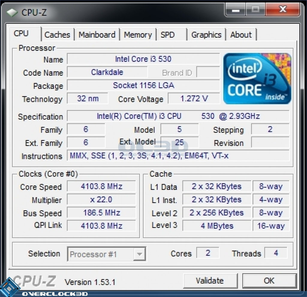 Asus P7H57D-V EVO Motherboard | BIOS & Overclocking | CPU