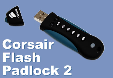 Corsair Flash  Padlock 2 8GB Review