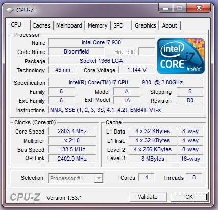 intel core i7 930 review overclock and undervolt cpu mainboard oc3d review. Black Bedroom Furniture Sets. Home Design Ideas