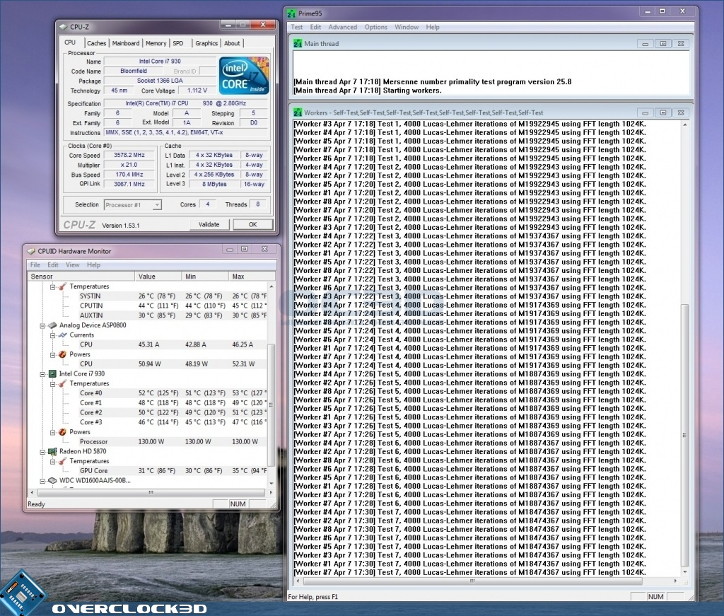 Intel Core i7 930 Review   Overclock and Undervolt   CPU