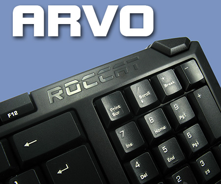 Roccat Arvo and  Apuri