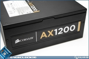 Corsair AX 1200w ATX PSU Side