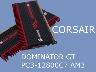 Corsair Dominator GT 1600MHz AM3 Kit