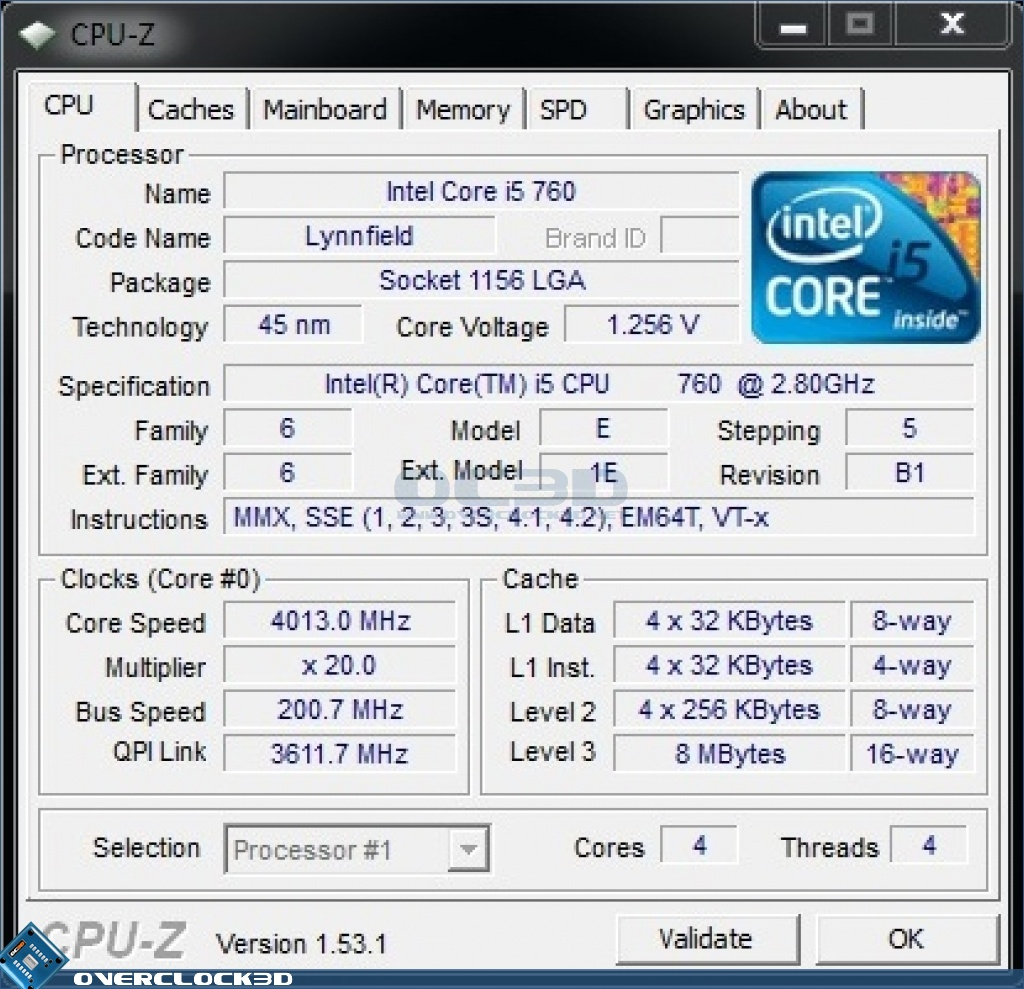 Intel I5 760 Review Test Setup And Overclocking Cpu