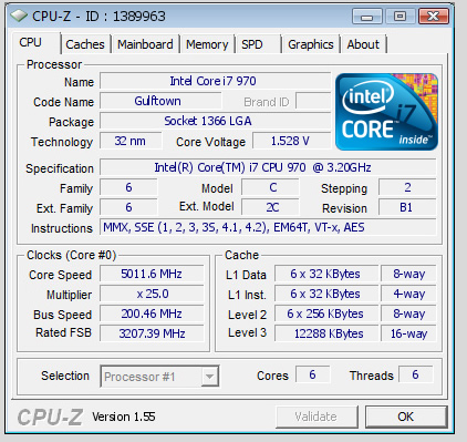 i7 970 - The Search for 5GHZ