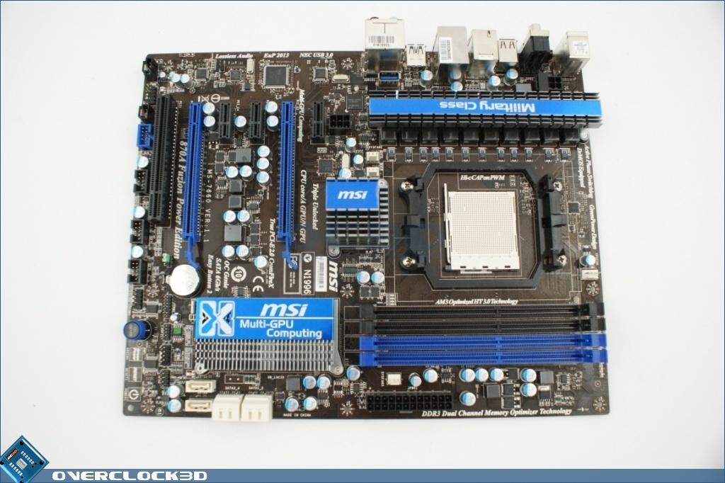 New Drivers: MSI 870A Fuzion Power Edition NEC USB3.0