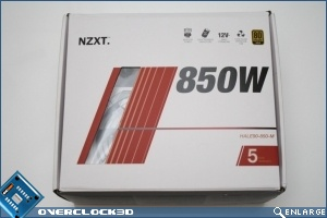 NZXT HALE 850w Box Front