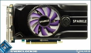 Sparkle GeForce GTX 460 Sabrina Card
