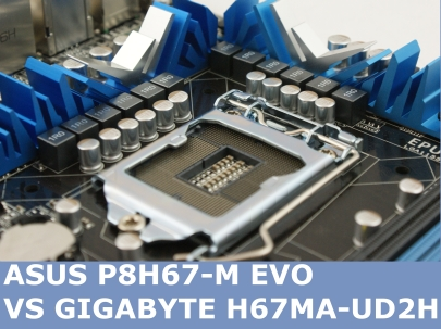 Asus vs Gigabyte Intel H67 Shoot Out