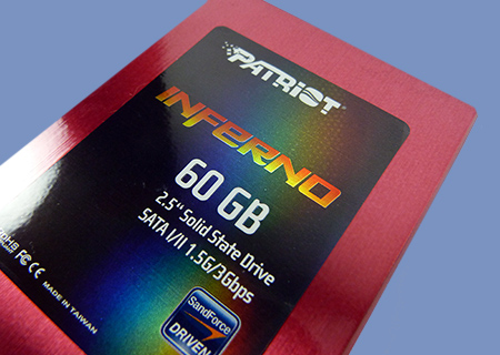 Patriot Inferno 60GB SSD Review