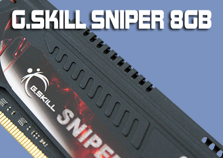 G.Skill Sniper SR2 8GB 1.25v Sandybridge Kit Review