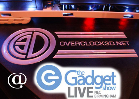 We're with Aria at Gadget Show Live
