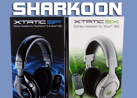 Sharkoon XTATIC SX SP PS3 360 Headset Review