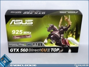 ASUS GTX560 TOP Review Packaging