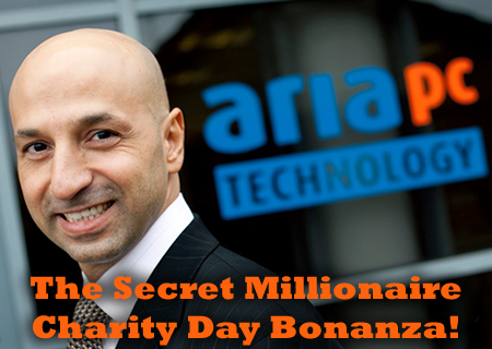 Aria's Secret Charity Day Bonanza!