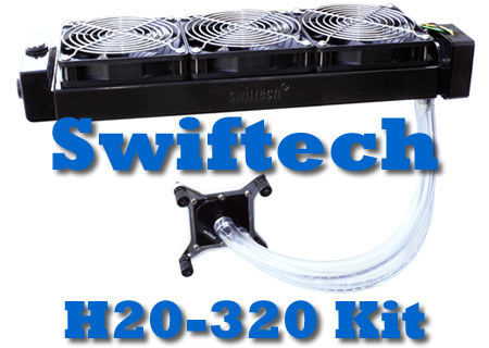 Swiftech H20-320 Water Cooling Kit Review