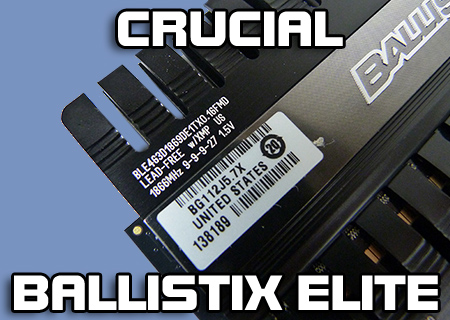Crucial Ballistix Elite 8GB 1866MHz Kit Review