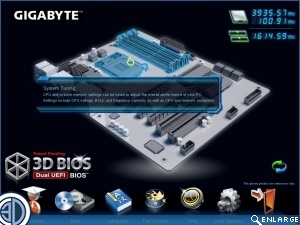 Gigabyte Z77X-UD5H Review 3D BIOS