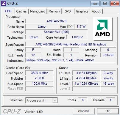 AMD A8-3870K Black Edition Review