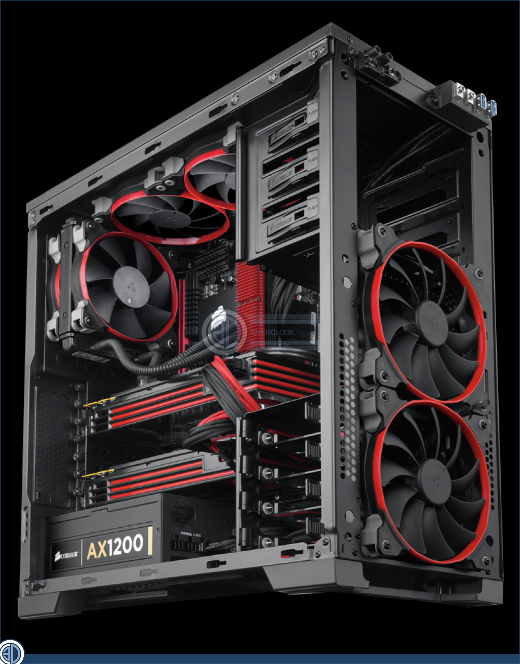 Corsair Air Series Fans Review SP120 AF120 Review | First Look