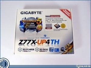 Gigabyte Z77X-UP4 TH Review