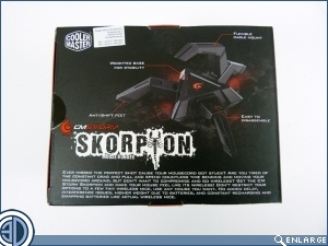 CM Storm Recon Mouse and Skorpion Bungee