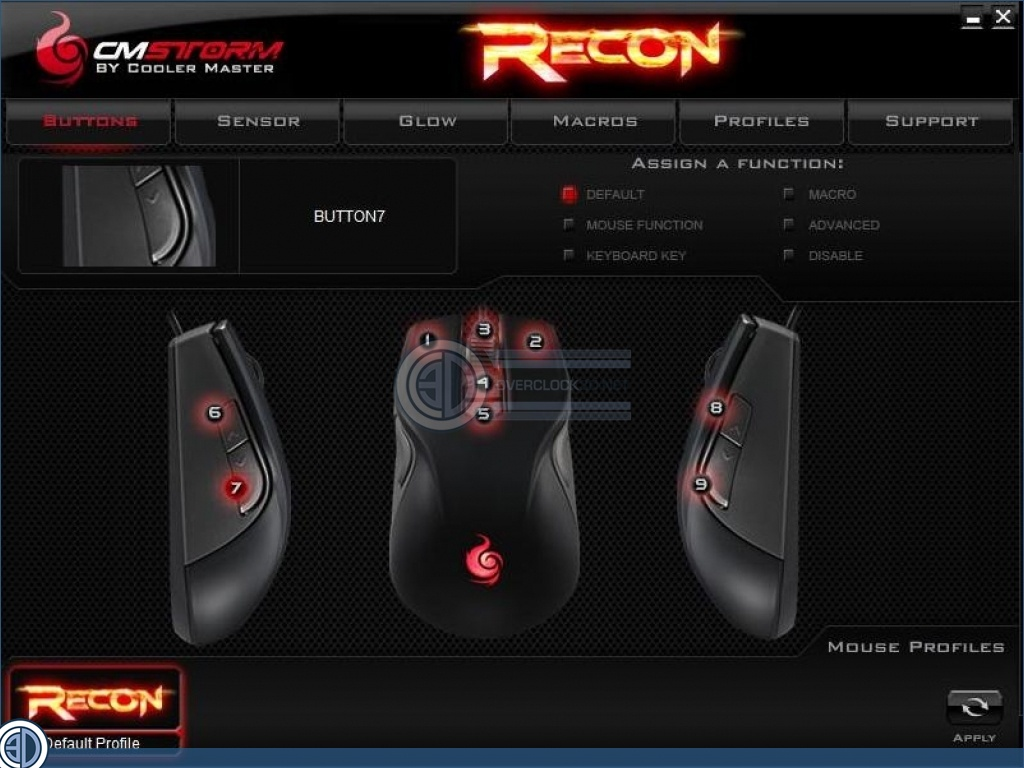 CM Storm Recon Mouse and Skorpion Bungee Review | Software
