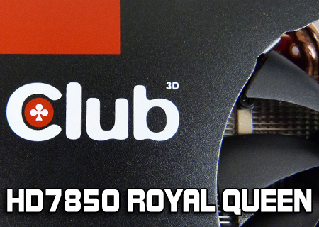 Club 3D HD7850 Royal Queen Review