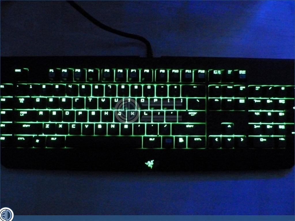 how to get lighting to work on blackwidow ultimate 2013