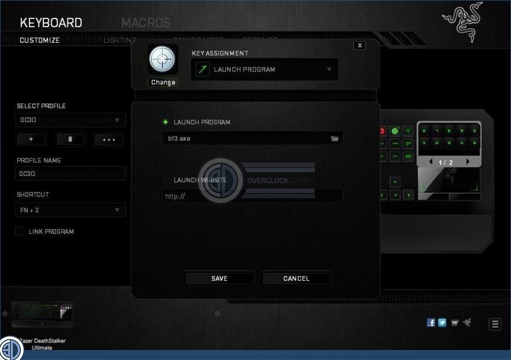 razer deathstalker ultimate review synapse software