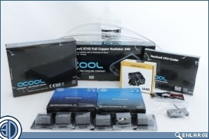 Water Cooling Kit Mega-test