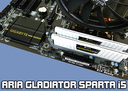 Aria Gladiator Sparta i5 Overclocked Bundle Review