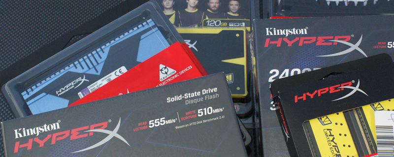 Win Kingston HyperX Prizes!