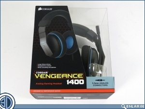Corsair Vengeance 1400 Gaming Headset Review
