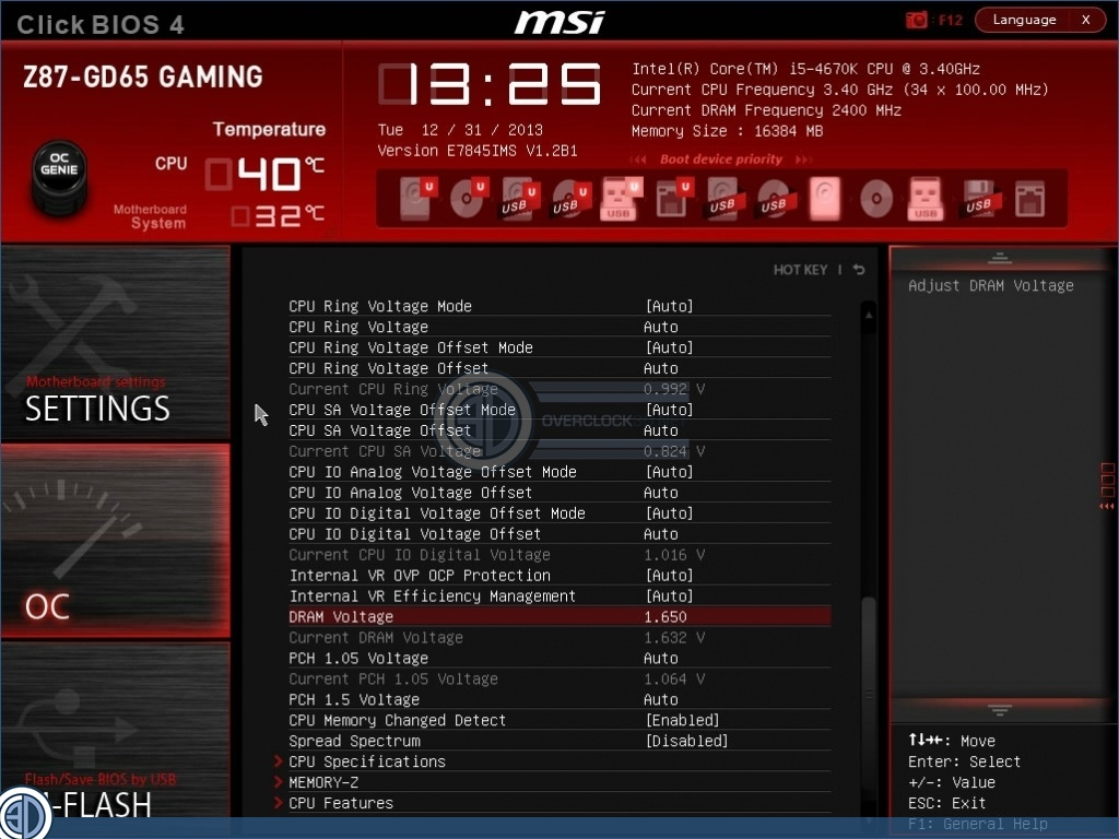 How to manually set up your RAM speed, timings and voltage